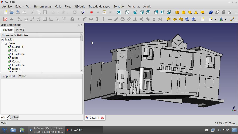 Software 3d para hacer casas exteriores e interiores for Software para construir casas