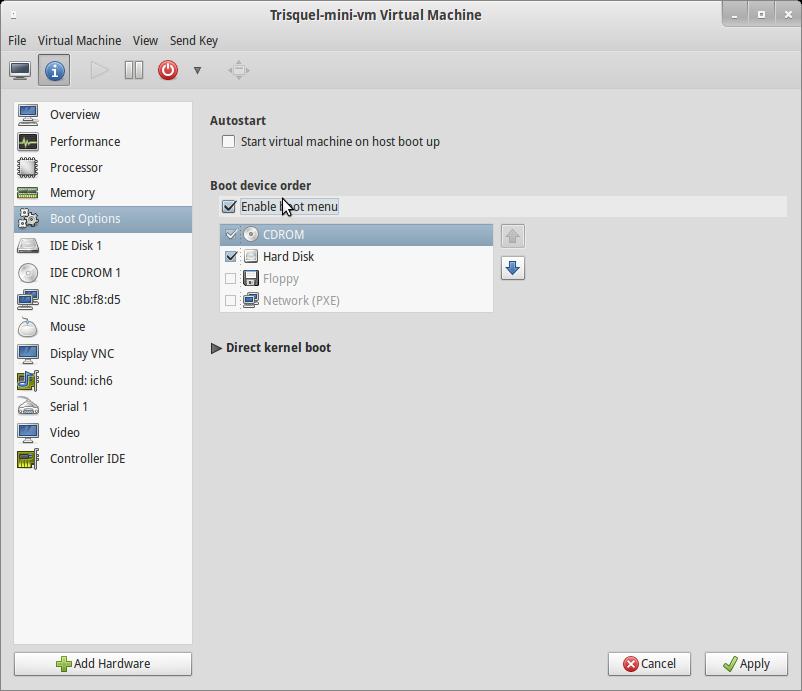 Virtualization using KVM | Trisquel GNU/Linux - Run free!