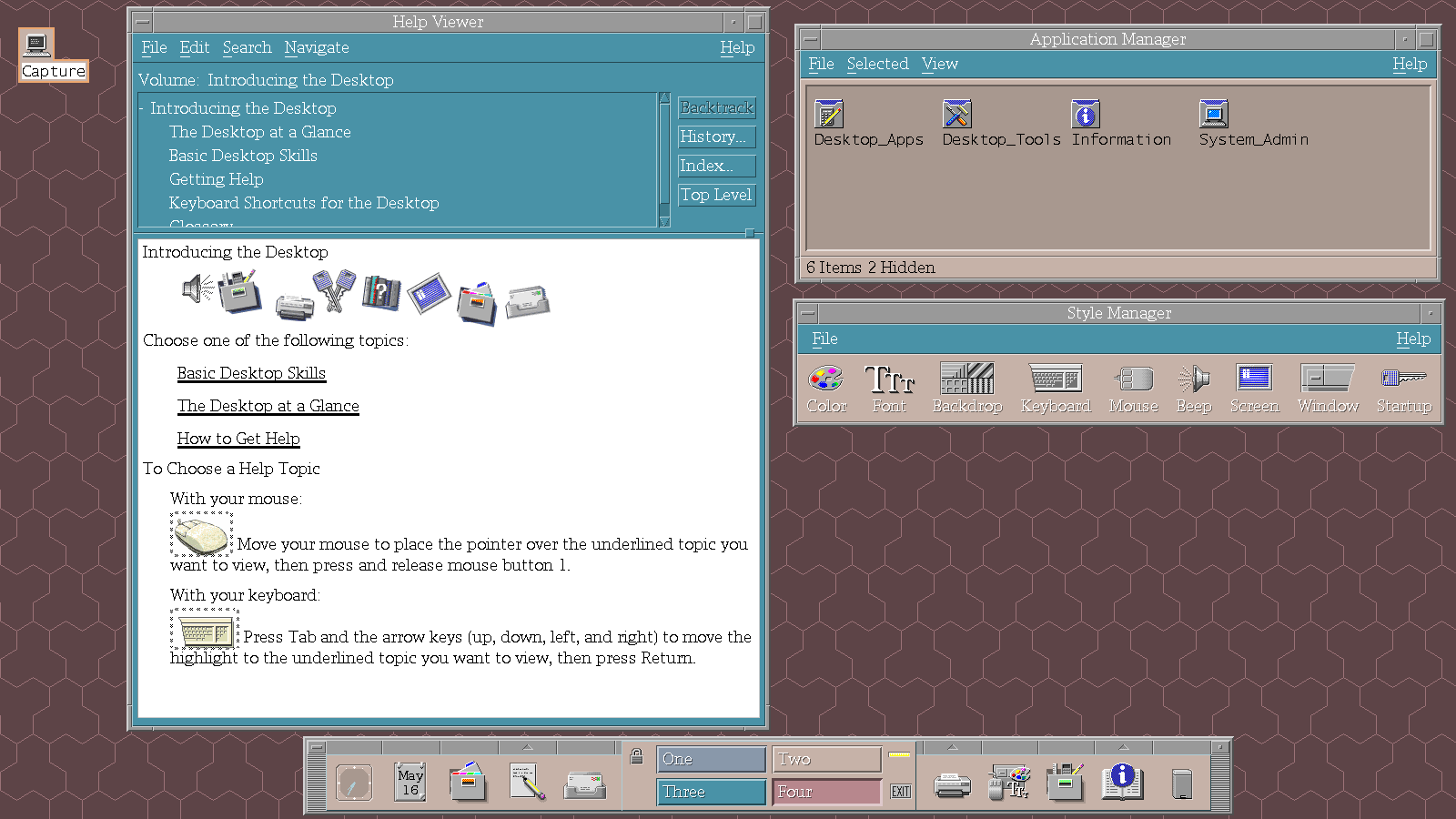 CDE -- Common Desktop Environment | Trisquel GNU/Linux