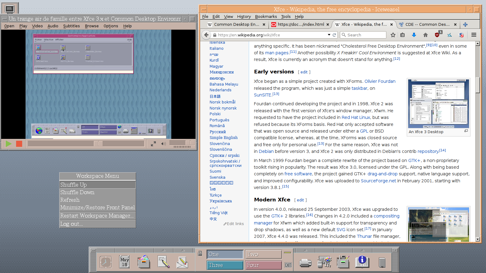 CDE -- Common Desktop Environment | Trisquel GNU/Linux - Run