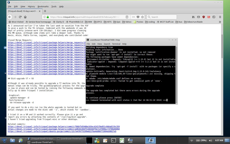 More Testing Please | Trisquel GNU/Linux - Run free!