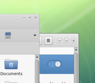 gtk3 window controls