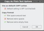Copy As Plain Text
