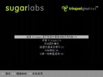 Menú del Live CD/USB, en chino