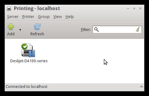 Setup a Printer | Trisquel GNU/Linux - Run free!