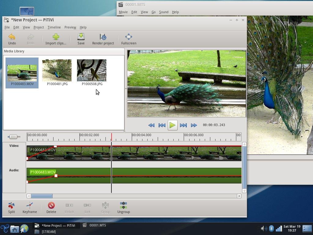 скриншот Trisquel 4.5 Slaine