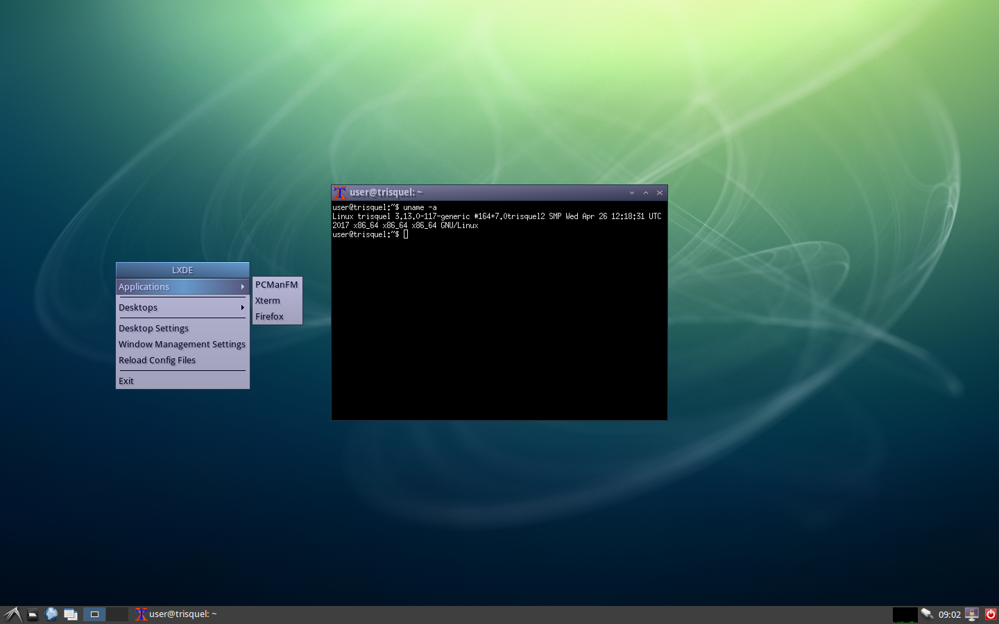 how to install and set session of MATE,LXDE,XFCE?   Trisquel GNU